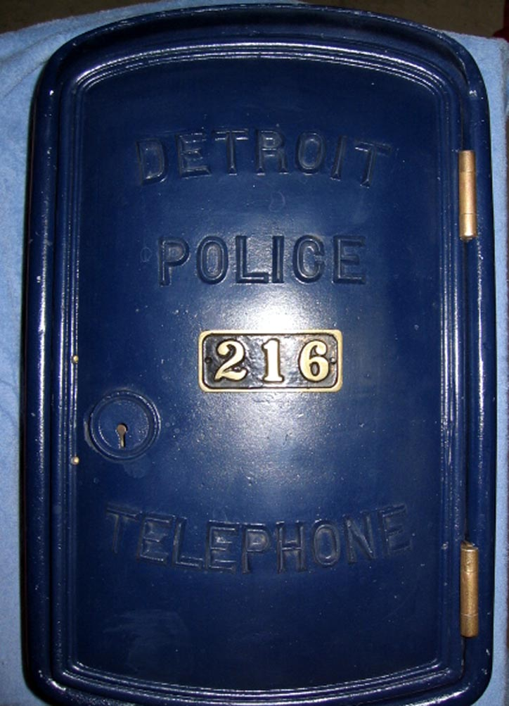 Gamewell Police Call Boxes Pictures And Descriptions